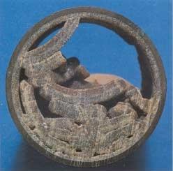 Medené potrubie s vodným kameňom